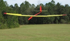 The Xplorer (a molded carbon fiber Unlimited aircraft) comes in for a landing.