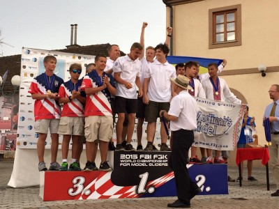 Team USA juniors take 3rd place at the 2015 World F3K Championships!